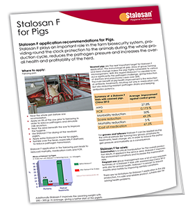Stalosan® F for Pigs